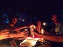 Candle-light cheer at Golden Key Resort.