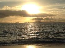 Sunset over Ao Khwai