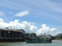 Mainland ferry pier