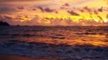 Golden sunsets from Ao Khwai