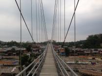 Bridge into Bukit Lawang