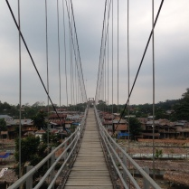 Bridge into Bukit Lawang